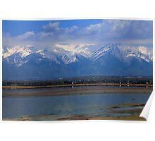 The Salt Lake in Utah Poster