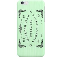 Green Ouija iPhone Case/Skin