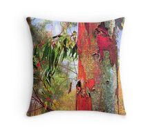 Eucalyptus Altered Throw Pillow