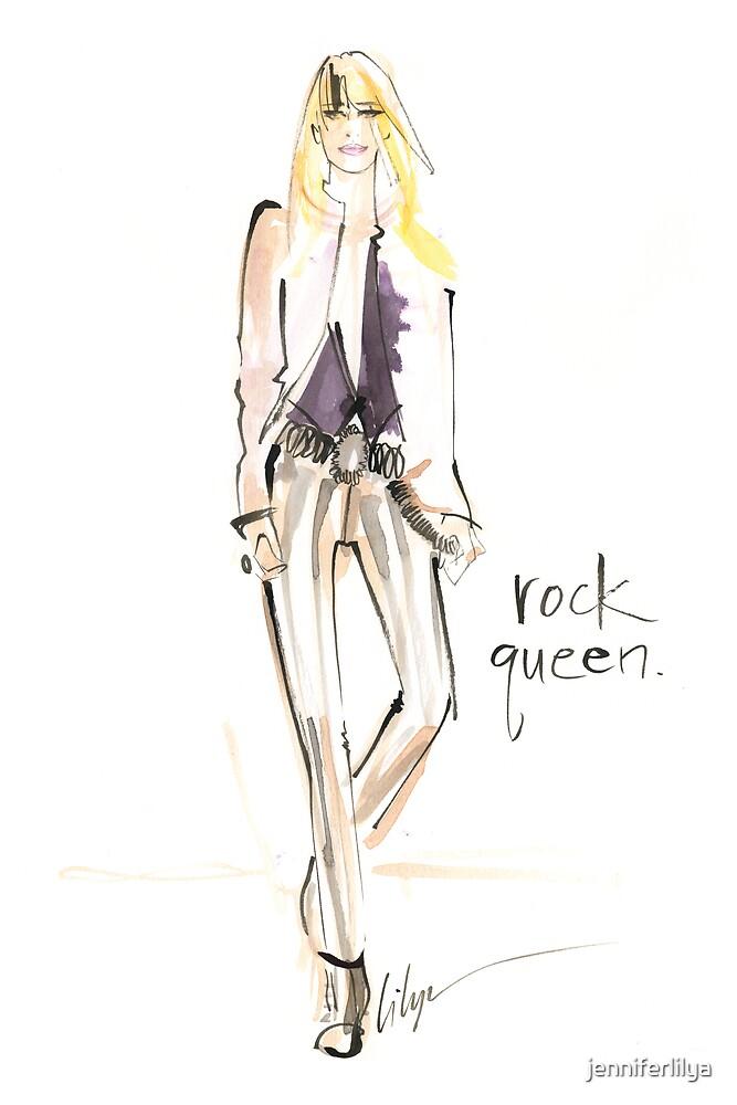 Rock Queen by jenniferlilya
