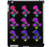 Psychedelic mushrooms iPad Case/Skin