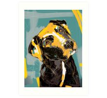 Dog Boris Art Print