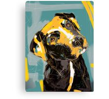 Dog Boris Canvas Print