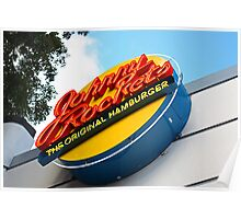 Johnny Rockets Restaurant  Poster