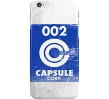 Capsule Corp. 2 iPhone Case/Skin