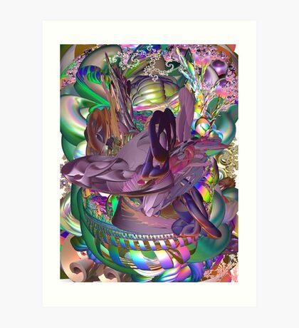 Creation wit Emotion Art Print