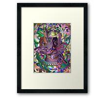 Creation wit Emotion Framed Print