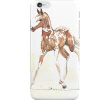 foal Pinto iPhone Case/Skin