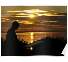 Evening Sillouette Poster