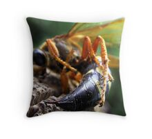 A Painful Lady Throw Pillow