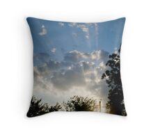 Singing Sky Throw Pillow