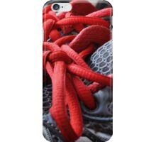 Red tape iPhone Case/Skin