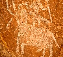 Rock Paintings by bnilesh