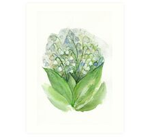 Lily of the valley Art Print