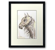 Horse Thomas my love Framed Print
