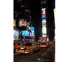 Nightlights on Broadway Photographic Print