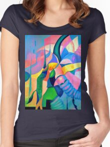 The Chase 1.1 Women's Fitted Scoop T-Shirt