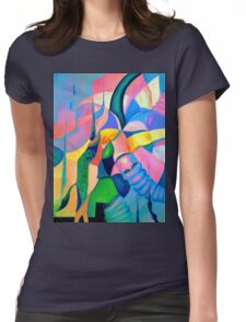 The Chase 1.1 Womens Fitted T-Shirt