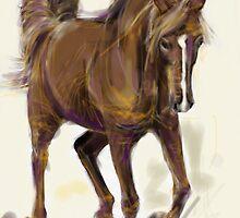 Horse Hazel by Go van Kampen
