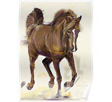 Horse Hazel Poster