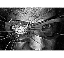 Glassed Photographic Print