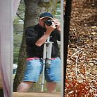 Self Portrait - Floriade, Canberra, 2009. by CClarke