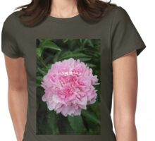 Pink Peony  (Paeonia) Womens Fitted T-Shirt