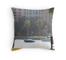 Baiting the Light Throw Pillow