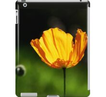 Orange Icelandic Poppy iPad Case/Skin