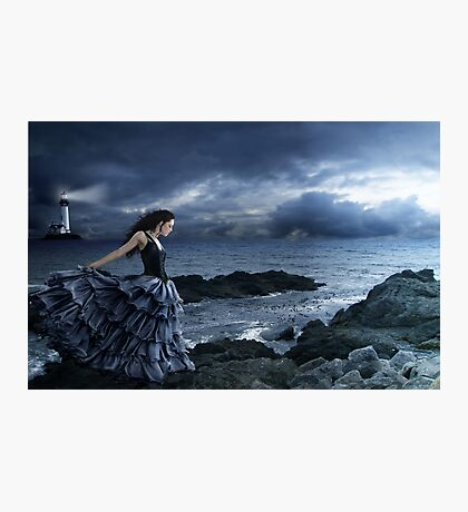 Dance of the Night Wind Photographic Print