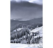 The heart of winter Photographic Print