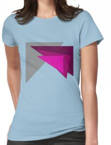 Geometric Womens Fitted T-Shirt