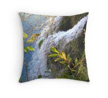 CHARMING WATERFALL Throw Pillow