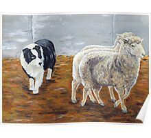 Zagala Con Ojo Zaca - The Shepherdess Poster