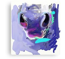 Horse Nose Canvas Print