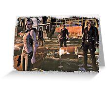 Resident Evil 6  Greeting Card