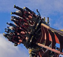 Nemesis Inferno - Thorpe Park by Colin  Williams Photography