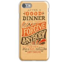 Let's Have Dinner iPhone Case/Skin