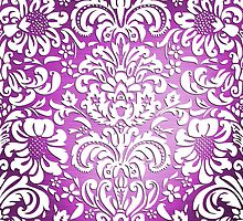 Floral Elegance - Colour Fade Pattern 5 by Ra12