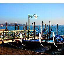 in gondola Photographic Print