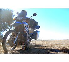 trusty steed - resting after big ride Photographic Print