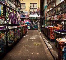 Melbourne Laneway by seby