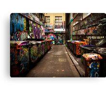 Melbourne Laneway Canvas Print