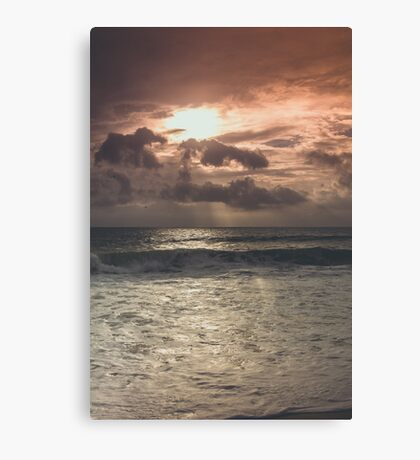 The Rise Of A New Light Canvas Print