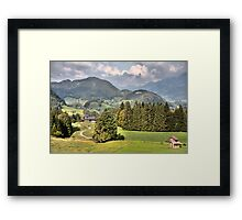 THE SOUND OF MUSIC - HILLS OF GREEN Framed Print