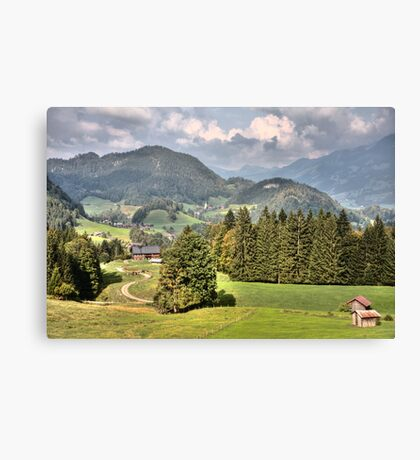 THE SOUND OF MUSIC - HILLS OF GREEN Canvas Print