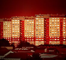 Blocks of Fire by Alexandru C.