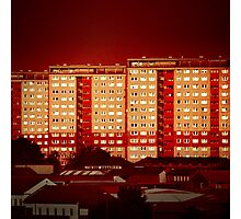 Blocks of Fire Photographic Print