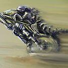 Gator Rider by Tom Godfrey