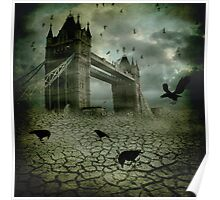 The Ravens Have Left the Towers Poster